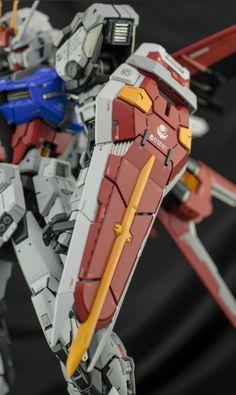 GUNDAM GUY: PG 1/60 Aile Strike Gundam - Customized Build