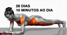 7 exercícios simples que vão transformar seu corpo em apenas 4 semanas