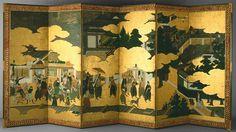 Biombo Japones Huerta - Arte y cultura