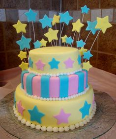Another beautiful star cake!