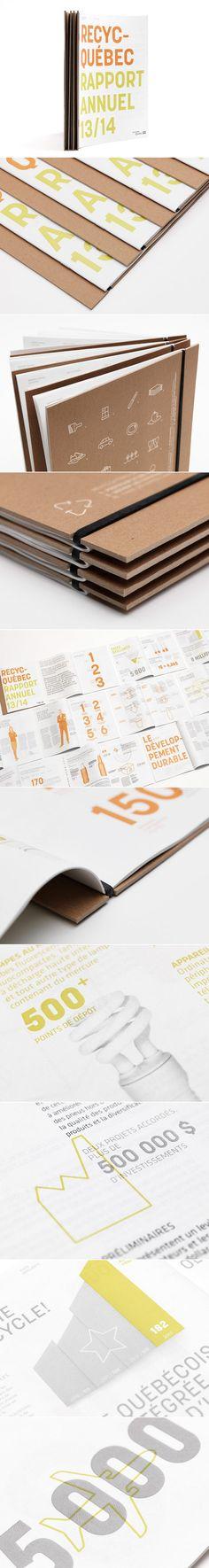 Recyc-Québec | Rapport annuel / Annual Report 2013-2014 | Édition / Publishing | lg2boutique