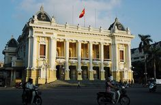A trip of French Colonial Sites in Hanoi - Experience elegant Hanoi French Colonial, Hanoi Vietnam, Southeast Asia, Travel Guide, Opera House, Louvre, Street View, Waves, Europe