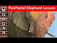 Art Painting Tools, Painting Videos, Pastel Pencils, Chalk Pastels, Pastel Art, Wildlife Art, Animal Paintings, Elephant, Drawings