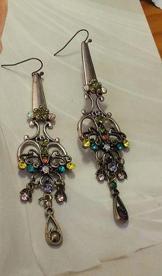 ☮ American Hippie Bohemian Boho Style ~ Jewelry .. HairStylist Scissor Earrings /Gypsy