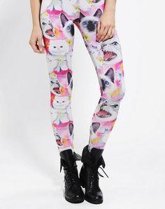 Kitty leggings