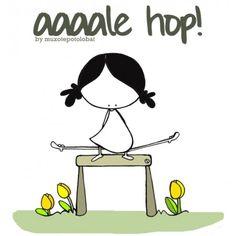 """Lámina """"Aleeeee hop"""""""