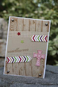 Polly kreativ: Ein Schwung Konfirmationskarten - Crosses of Hope - Stampin up