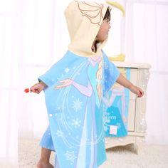 Poncho enfant Reine des neiges