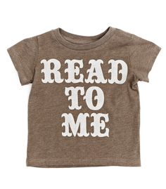 Read to Me Tee//