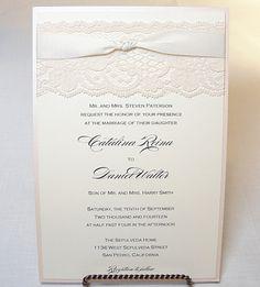 vintage chic wedding invitations - Google Search