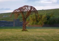Orkney Image Library - A tree made from horseshoes tree, horsesho craft, horsesho design