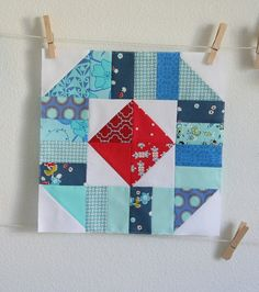 Quilt block by cluck cluck sew