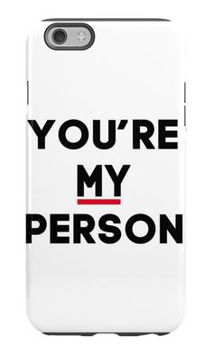 You're My Person - Grey's Anatomy by royalbaum
