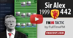 Sir Alex 4-4-2 with Man Utd 1999