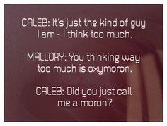 Heartland--Caleb vs. Mallory lol