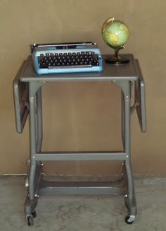 Typewriter table - my new acquired object.