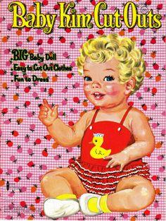 Thursday Tab- Whitman Baby Kim, 1962