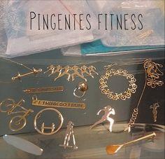 Pingentes Fitness Esporivos Diversos Jóia Ouro 18k