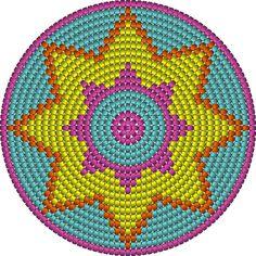 ster patroon mochila bodem pattern haken crochet