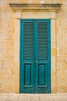 Green Door in Malta, Europe