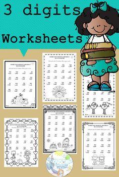 Subtraction Activities, Math Activities, Halloween Activities, Addition Worksheets, Number Worksheets, School Resources, Teacher Resources, 2nd Grade Math, Third Grade