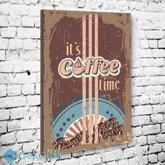 Vintage Coffee Time Tablo #tipografi_tablo #tipografik_tablo #tipografi_kanvas_tablolar