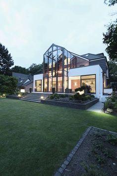 Gärtnerhaus: moderne Häuser von 28 Grad Architektur GmbH