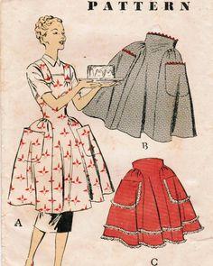 full half aprons