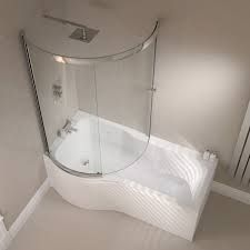 Image result for p shaped bath