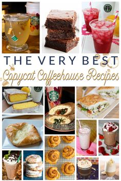The Very Best Copycat Coffeehouse Recipes Easy Desserts, Easy Dinner Recipes, Delicious Desserts, Easy Meals, Dessert Recipes, Drink Recipes, Starbucks Breakfast, Cinnamon Dolce Latte, Passion Tea Lemonade