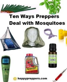 February and March is an ideal time to curb those pesky mosquitos. Here are Ten Ways Preppers Deal with Mosquitoes: http://www.happypreppers.com/Mosquitoes.html