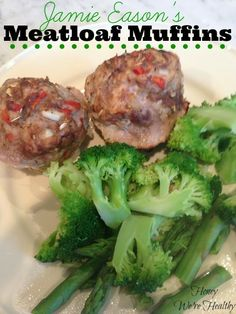Jamie Eason's Meatloaf Muffin recipe with nutritional info