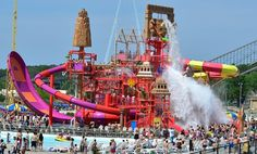 Lost City of Atlantis Expansion Opens at Mt. Olympus Waterpark