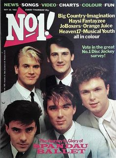 Magazine May 1983 ft. Uk Music, Dance Music, Cover Boy, Tears For Fears, 80s Pop, New Romantics, Music Magazines, Number One, Read Aloud