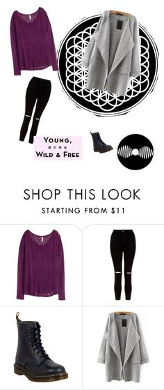 """Bring me the style"" by alexa-borcea on Polyvore featuring H&M, New Look, Dr. Martens and Vision"
