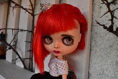 OOAK Blythe doll Coralie Custom art blythe doll by
