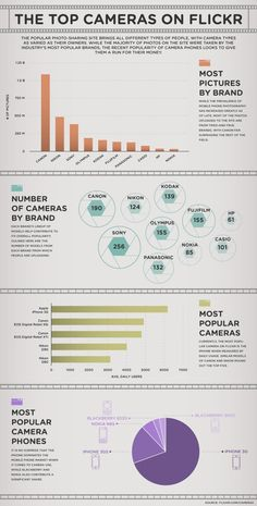Flickr top camera choices.