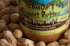 A Vermont dad makes this amazing peanut butter. My favorite flavor is Good Karma (dark chocolate!)