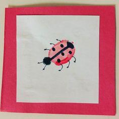 #ladybug #fingerprint #100daysofTeachingKidsArt #the100dayproject #craft #preschool #homeschool #grandparents #homeschooling #kidsart #creativekids #kidscrafts #kids #preschoolart #toddler #toddleractivities #toddlerapproved #toddlerart #nanny #babysitting #bug # bugs