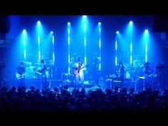 Bon Iver playing live at Club 9:30. I like the vertical bars upstage (LED?). #bbaj