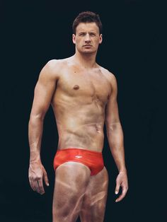 Ryan Lochte in a speedo - totally just changed my mind about speedo's