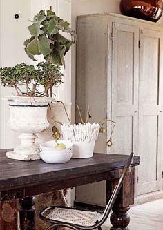 Sanctuary ▇  #Vintage #Home #Decor  via - Christina Khandan  on IrvineHomeBlog - Irvine, California ༺ ℭƘ ༻