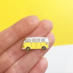 Sunshine Van pin  hard enamel pin badge  perfect gift for