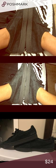 Black Faded Pumas Faded | Suede | Puma Shoes Sneakers