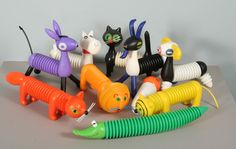 An amazing lot of Libuse Niklova's accordion animals sold for 2.000 euros!