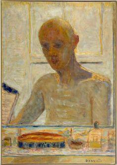 Pierre Bonnard, 'Autoportrait dans la glace du cabinet de toilette', 1939-1945.