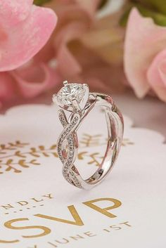 Must Know: 5 Engagement Ring Trends for 2017 ❤ See more: http://www.weddingforward.com/engagement-ring-trends/ #weddings