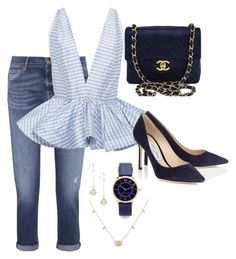 """""""Classy"""" by pitaa29 on Polyvore featuring 7 For All Mankind, Leal Daccarett, Chanel, Gucci and Marc Jacobs"""