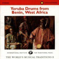 Yoruba Drums From Benin, West Africa - See http://astore.amazon.com/orixsoulofthe-20/detail/B000001DLI