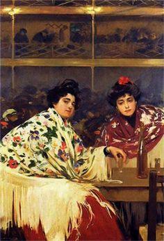 Ramón Casas Paintings | paintings | Musie